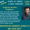 stand up comedy workshop